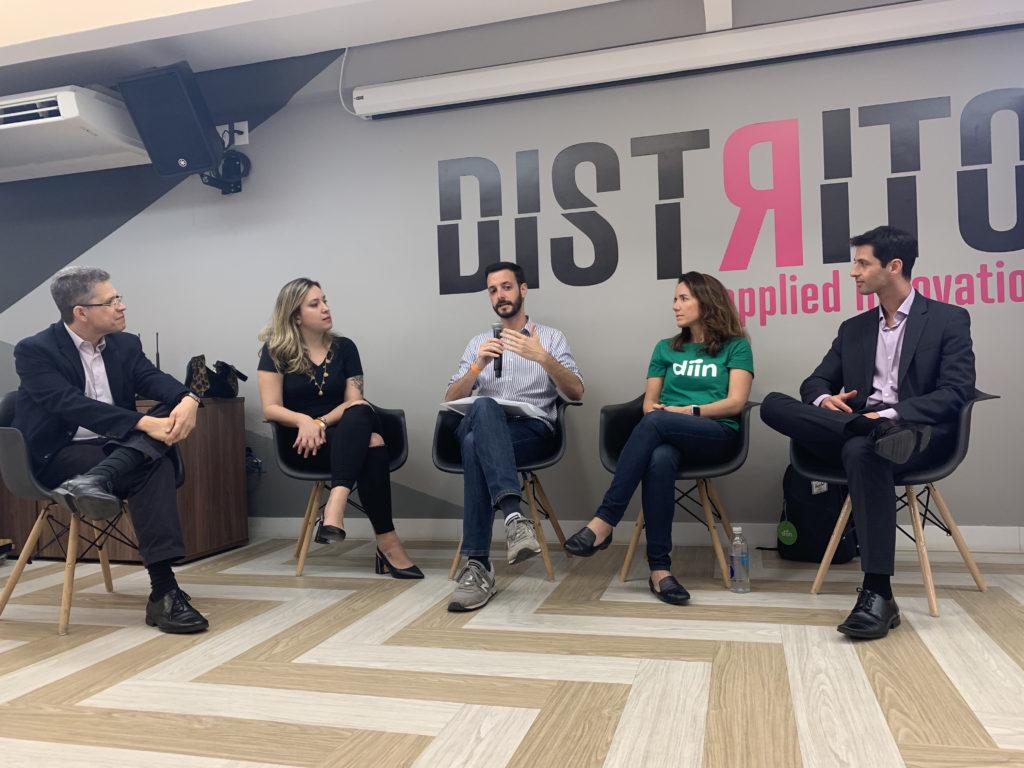 Felipe Sotto-Maior (Vérios Investimentos) fala no debate da HB Escola de Negócios